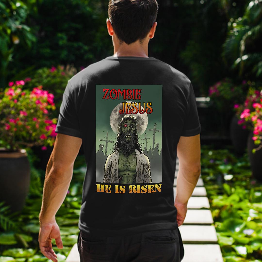 Zombie Jesus Shirt He Is Risen