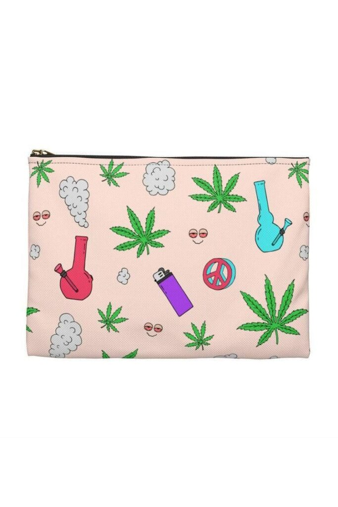 best gift for a weed smoking mom pouch