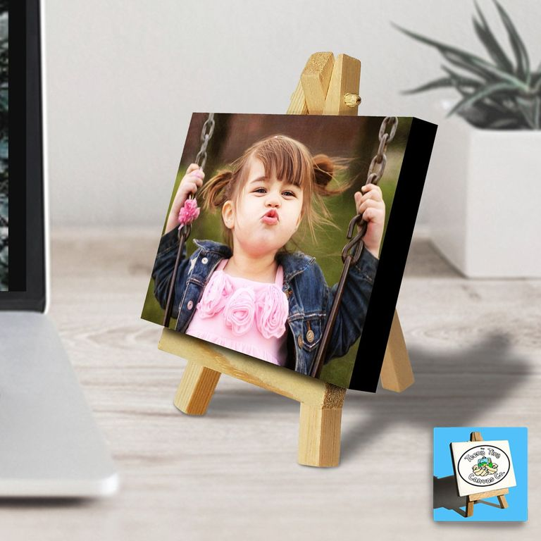 gift for mom photo canvas