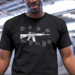 Anatomy Of Freedom Gun Shirt Pro Gun mock