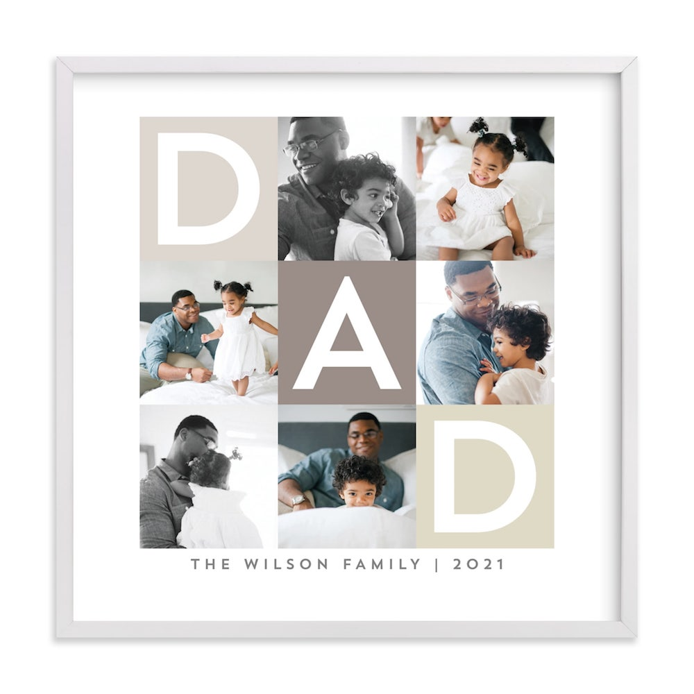 Best Dad Ever Boxes- great gift ideas for daddy to be.