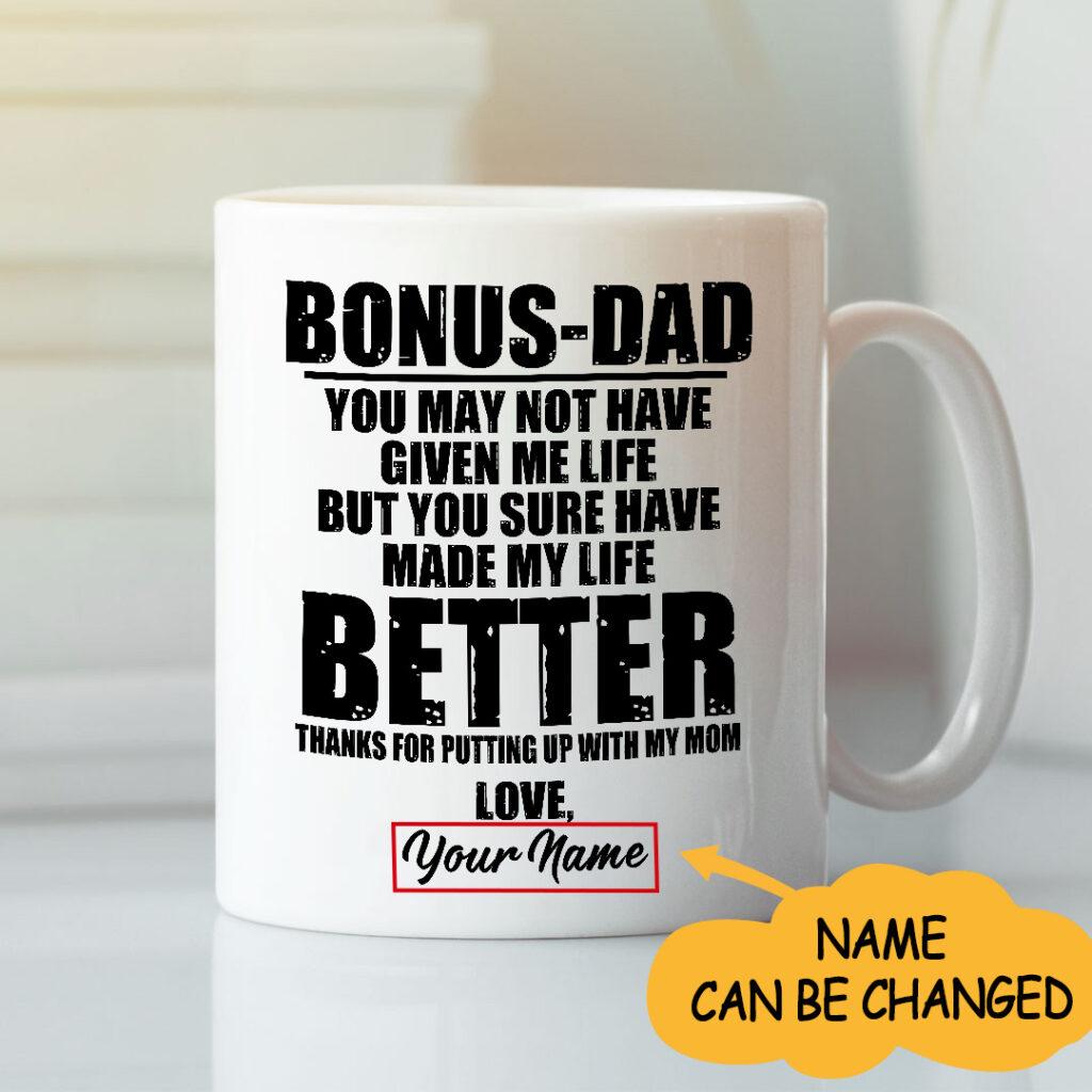 Bonus dad Personalized Mug