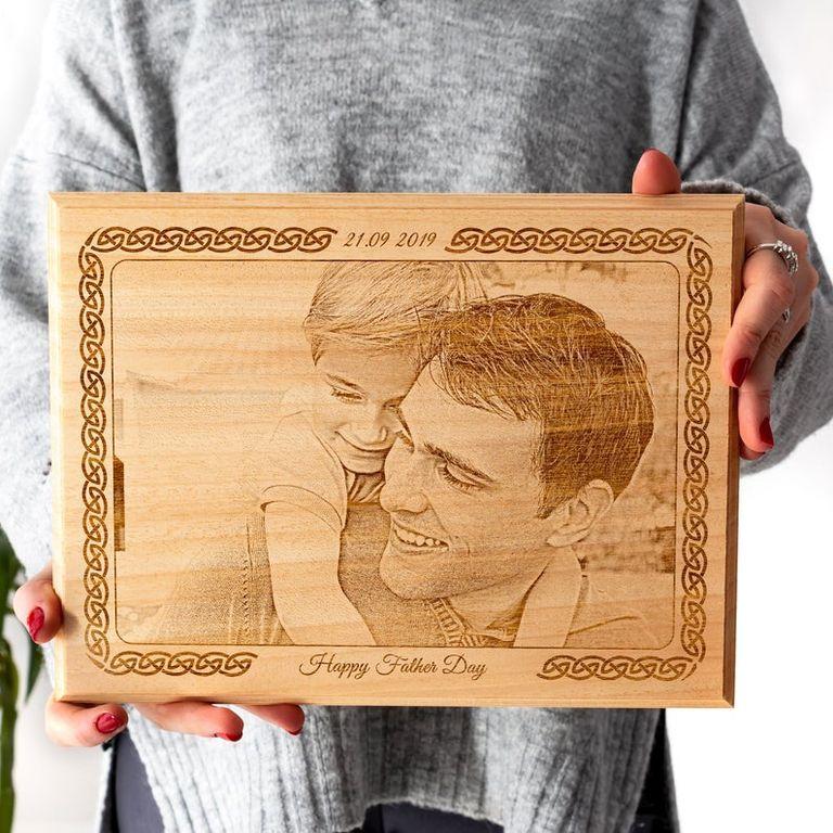 Custom Wood Frame Gift