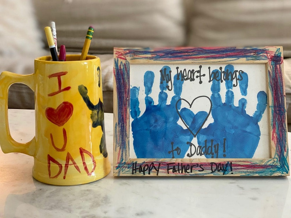 DIY Fathers Day Gifts Kid Can Make