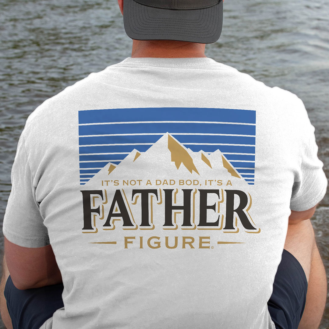 It's Not A Dad Bod It's A Father Figure Beer Lover Shirt