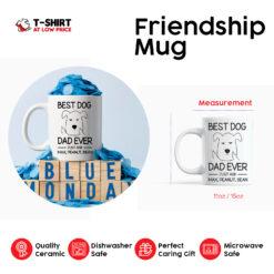 Dog Dad Personalized Mug Best Dog Dad Ever
