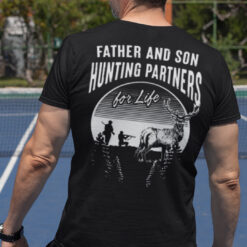 Father And Son Hunting Partners For Life Shirt