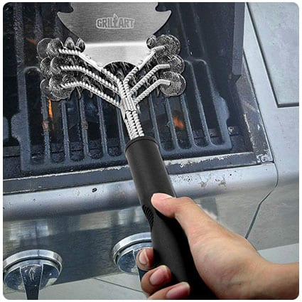 What is gift for daddy - GRILLART Grill Brush Bristle Free