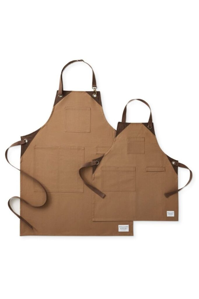 Grilling Apron- great gift for dad to do with son