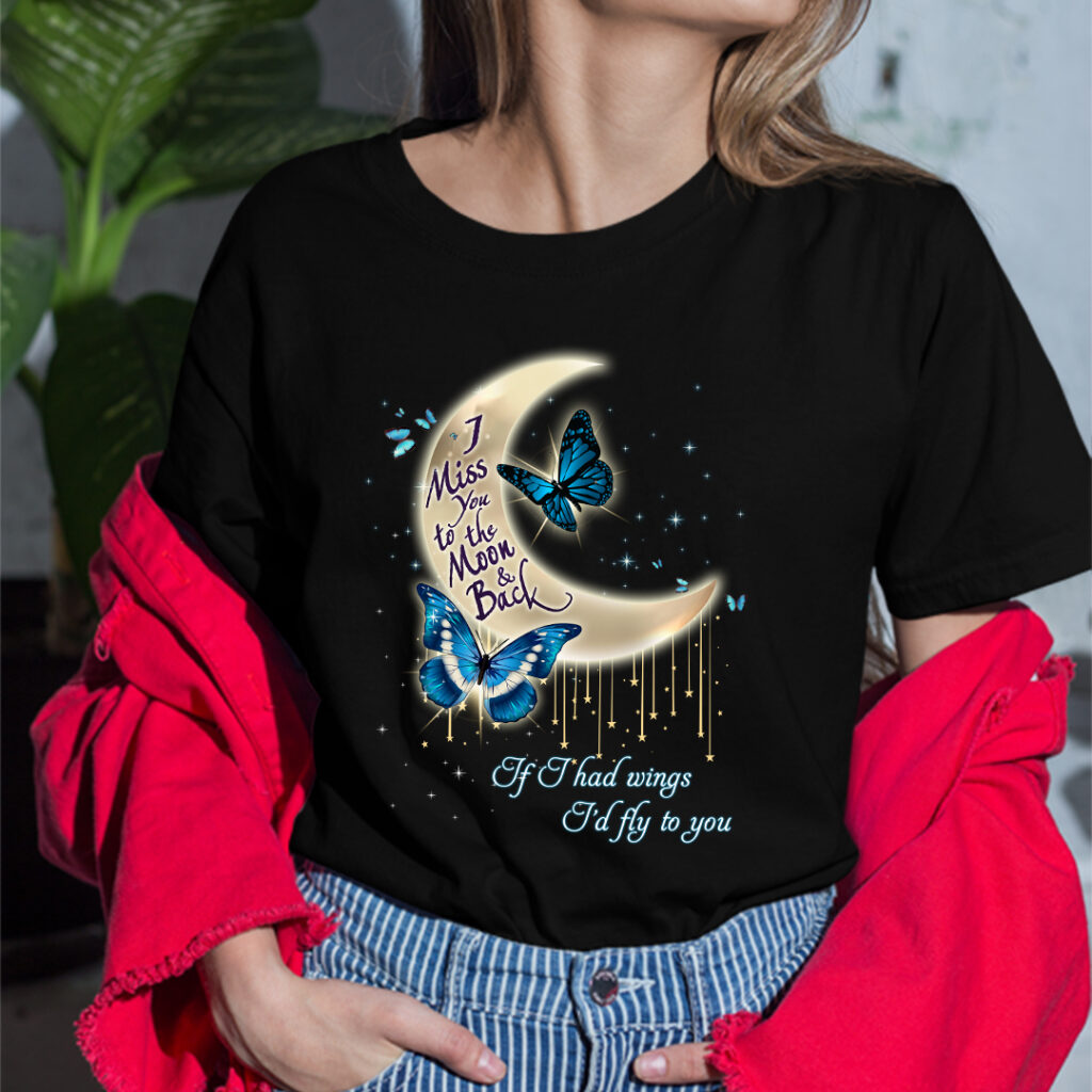 I Miss You To The Moon And Back Shirt