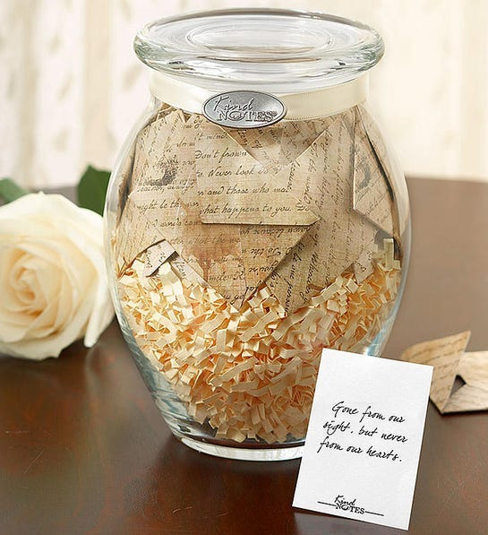 Looking for what to gift when someone passes away?