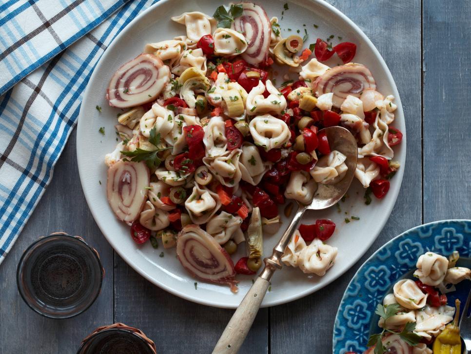 Muffuletta Tortellini Salad