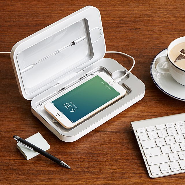 PhoneSoap Smartphone Sanitizer- best gift ideas for daddy to be