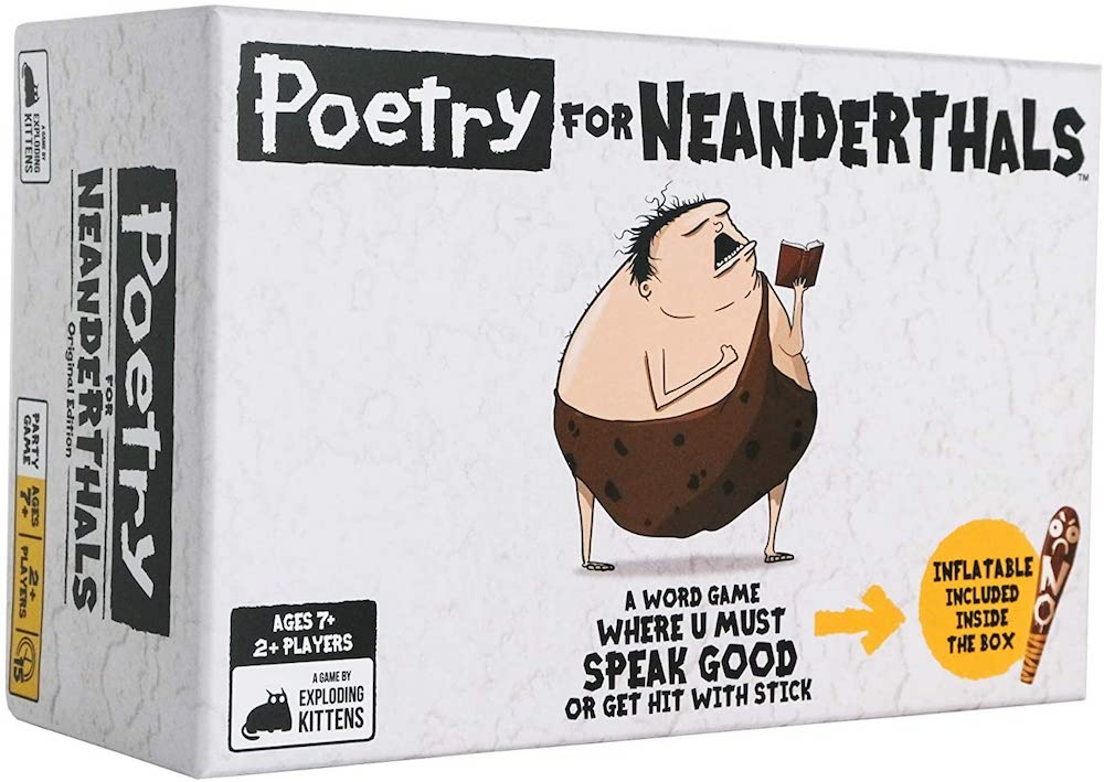 Poetry for Neanderthals- best gift for dad who has cancer.