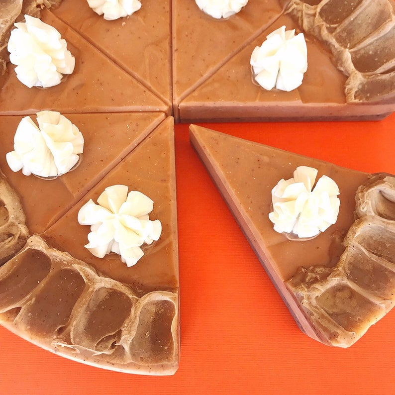 Pumpkin Pie Soap- great holiday gifts for teacher.