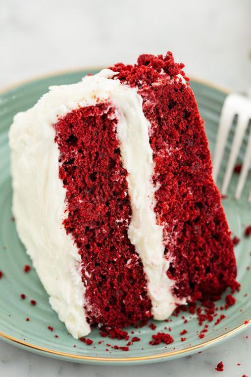 Red Velvet Cake - Father's Day Cakes