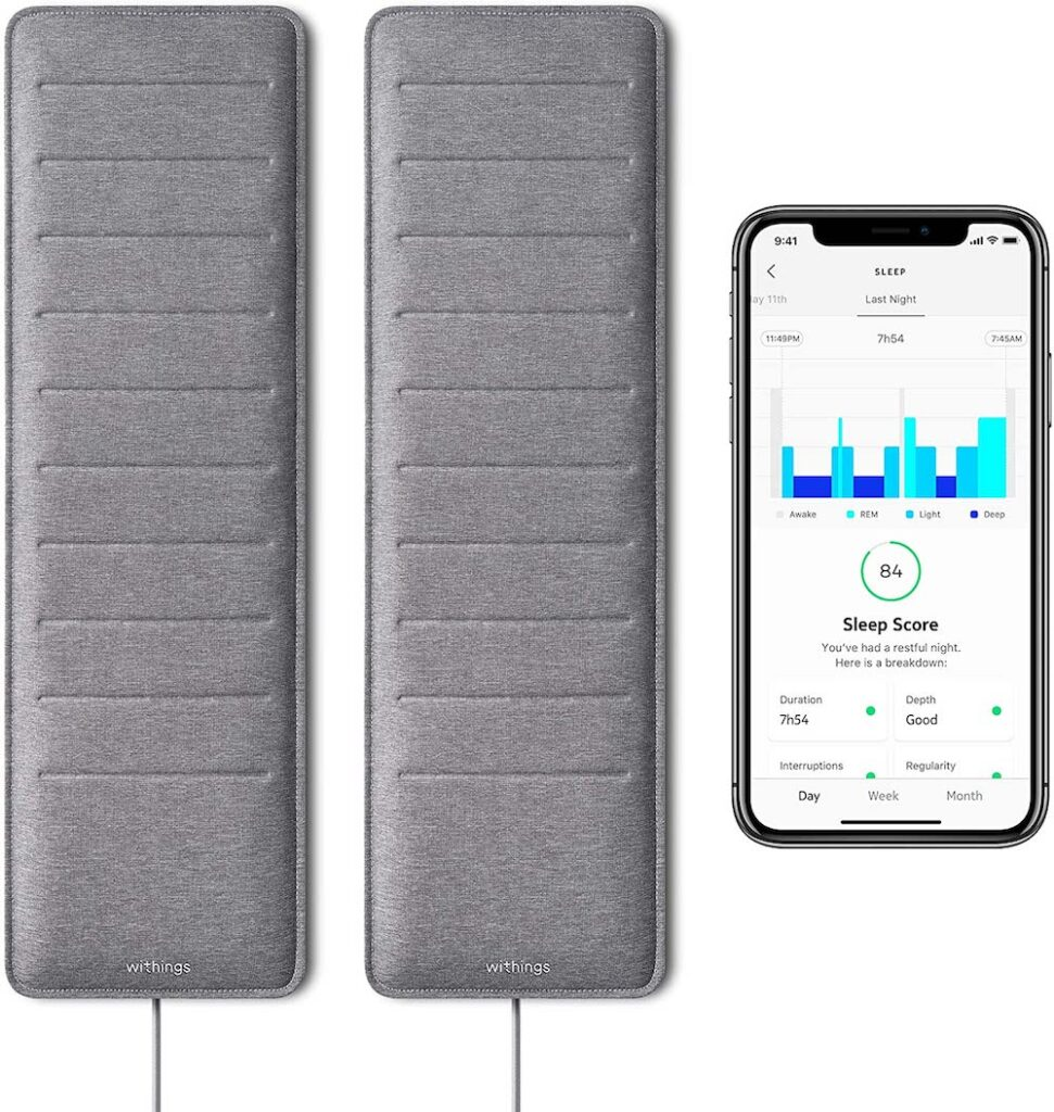 Sleep Tracking Pad Under-cool gift for dad who has everything UK.