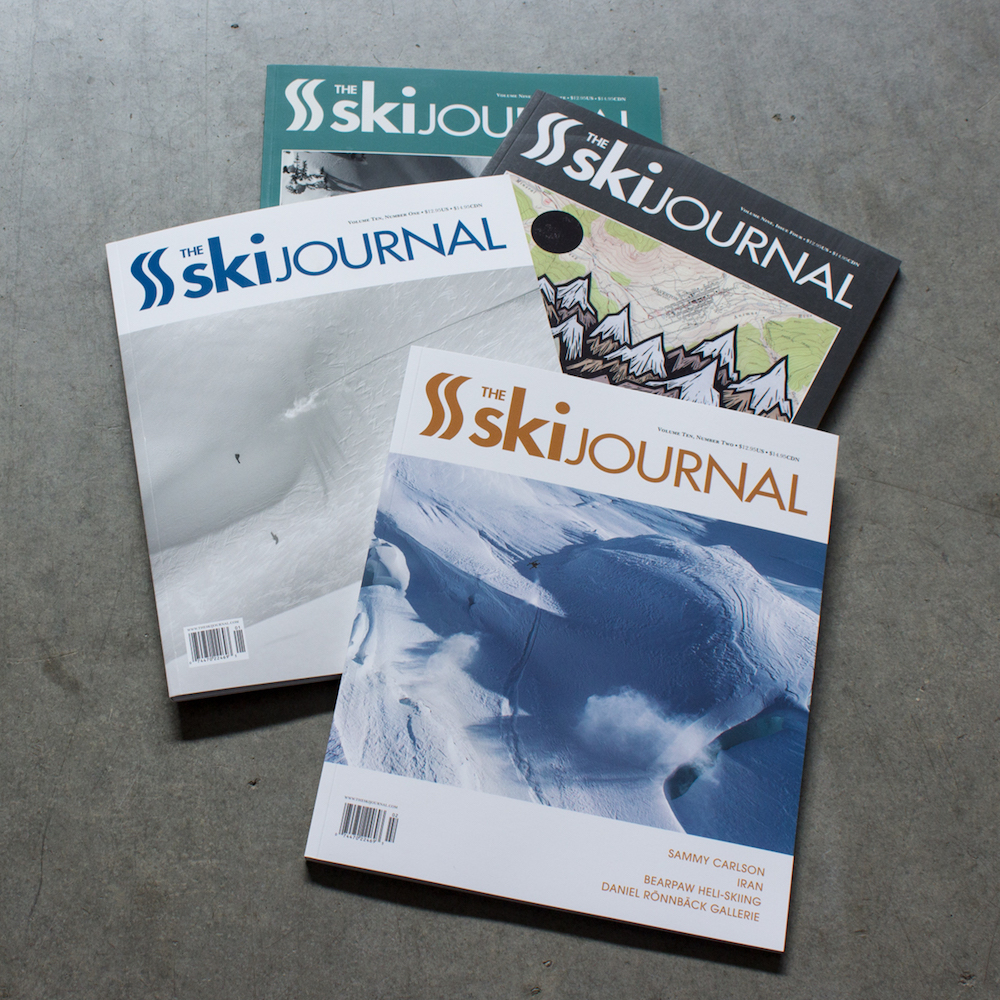 The Ski Journal- gift for friends who dad has cancer