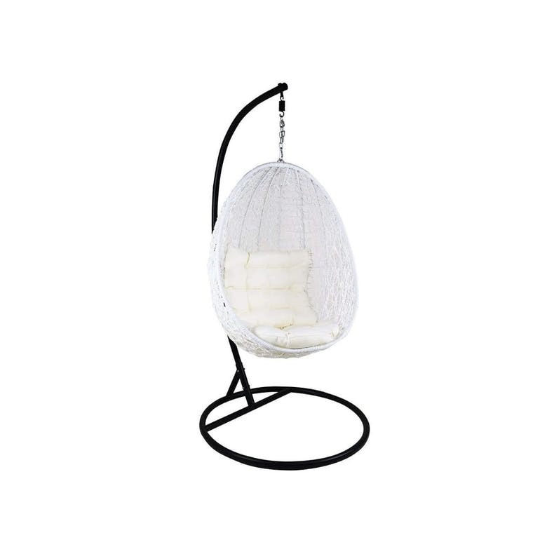 What Is Gift For Daddy - White Cocoon Swing Chair