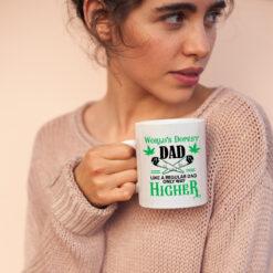 Worlds Dopest Dad Mug Like A Regular Dad Only Way Higher