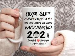 50th Anniversary Where We Were Vaccinated Mug6
