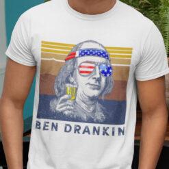 Ben Drankin 4th of July Shirt