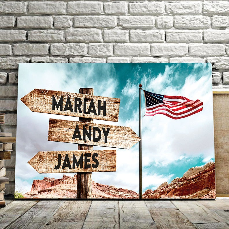 Canvas best independence day gift for brother