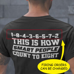 Chevy How Smart People Count To Eight Personalized Shirt