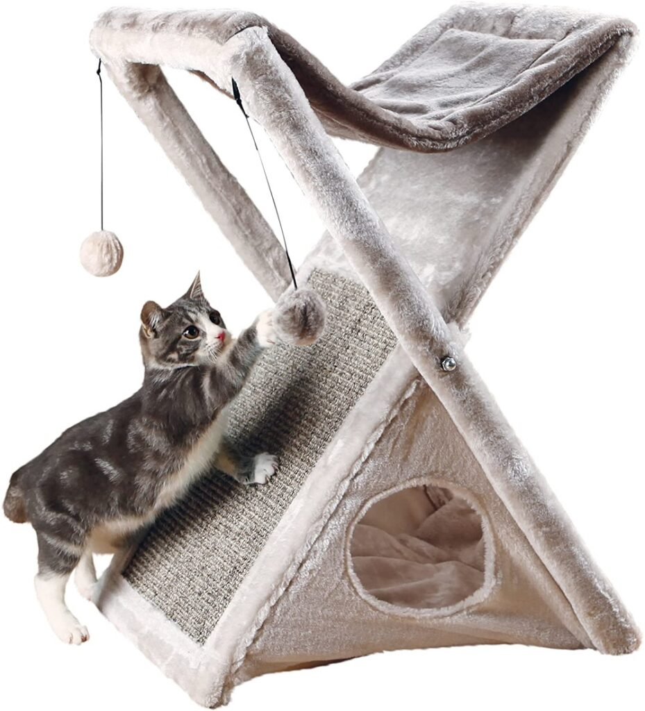 Fold and Store Cat Hammock- best cat mom gifts