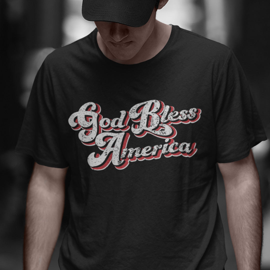 God Bless America Shirt Patriotic 4th Of July