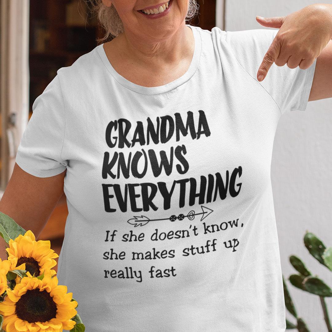 Grandma Knows Everything Shirt