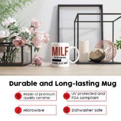 MILF In Progress New Mom Mug