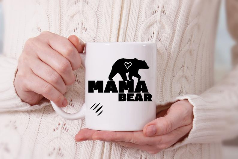 Mama Bear Mug - Valentine Gift Ideas For Your Mom