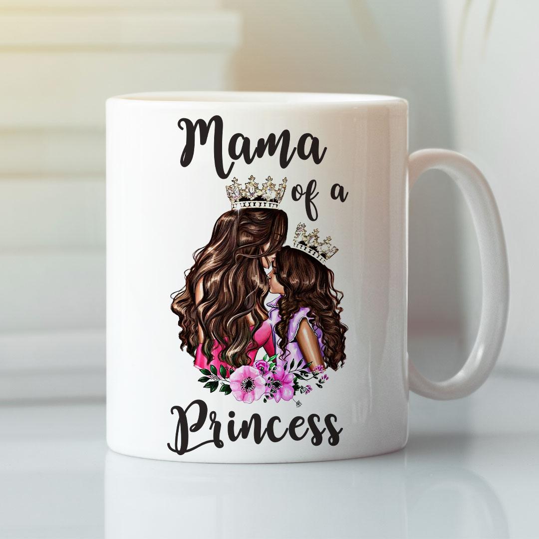Mama Of A Princess Mother Daughter Mugs