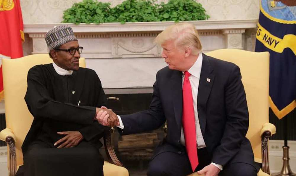 Nigeria ban Twitter: Donald Trump praises Buhari