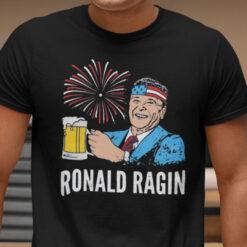 Patriotic Ronald Ragin 4th Of July Shirt