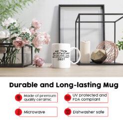 Personalized 75th Birthday Quarantine 2021 Mug1