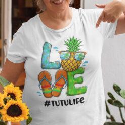 Pineapple Love Tutulife Hello Summer Shirt