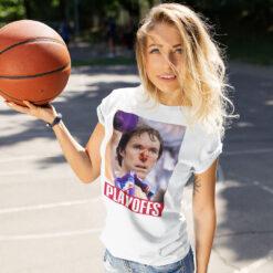 Steve Nash Broken Nose Shirt NBA Playoffs