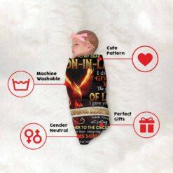 To My Dear Son In Law Phoenix Blanket