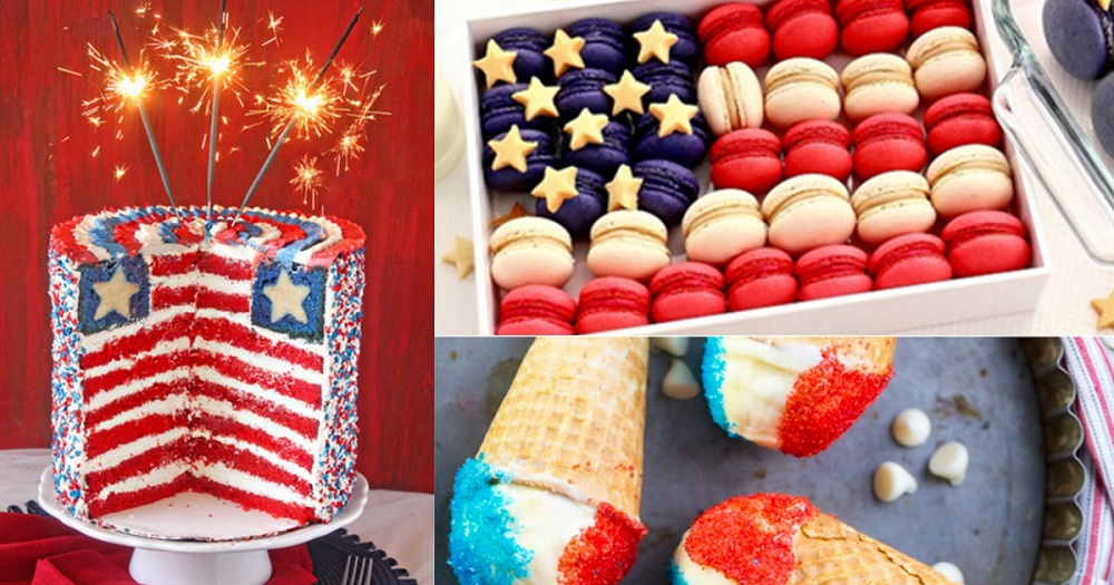 What are Independence Day activities and patriotic desserts