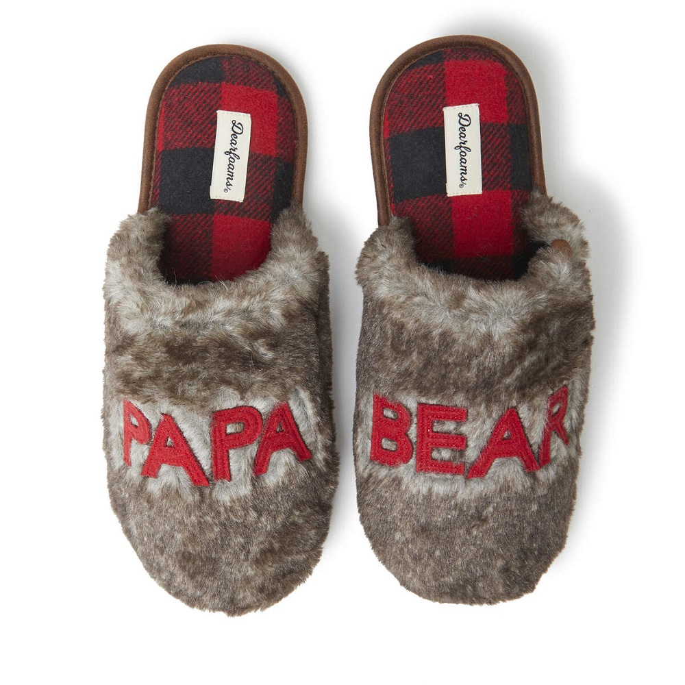 What is a good gift for parents- Matching Family Scuff Slippers
