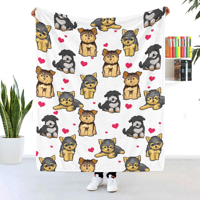 Yorkshire Terrier Blanket