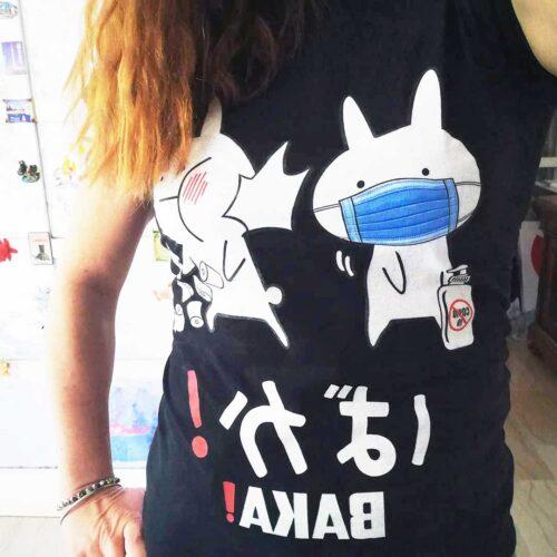 Baka Rabbit Slap Mask Covid-19 T Shirt photo review