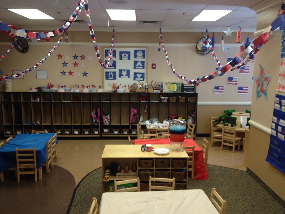 classroom decor - how to decorate school on the 4th of July
