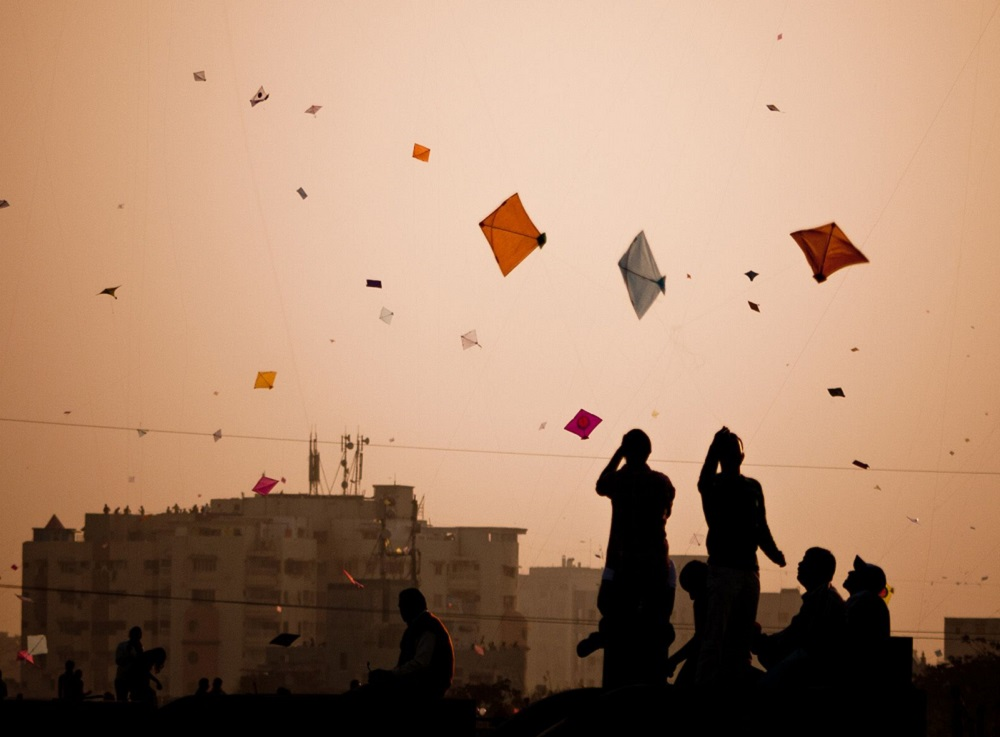 kite flying how Independence Day celebrate in India