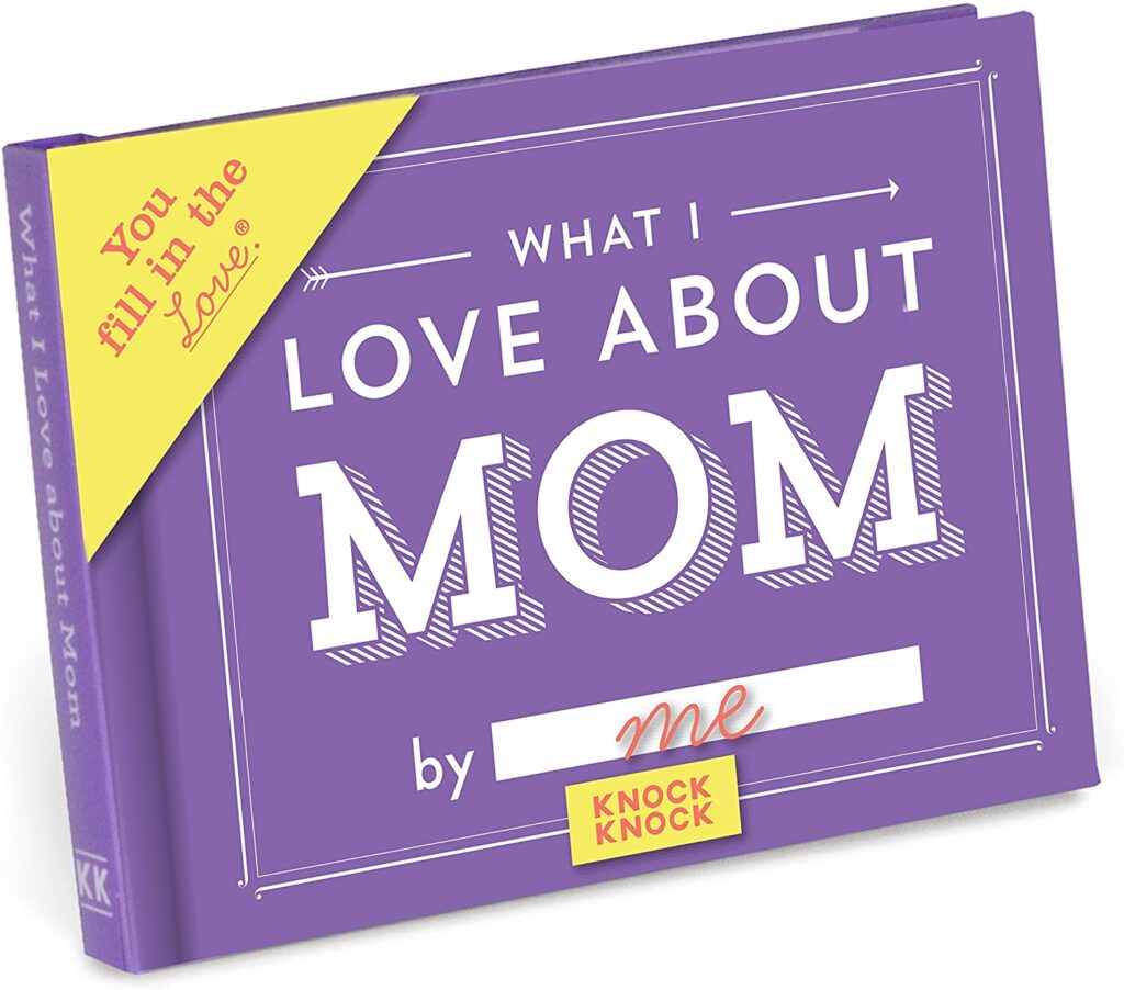 What I love about Mom best gift for Parents Day