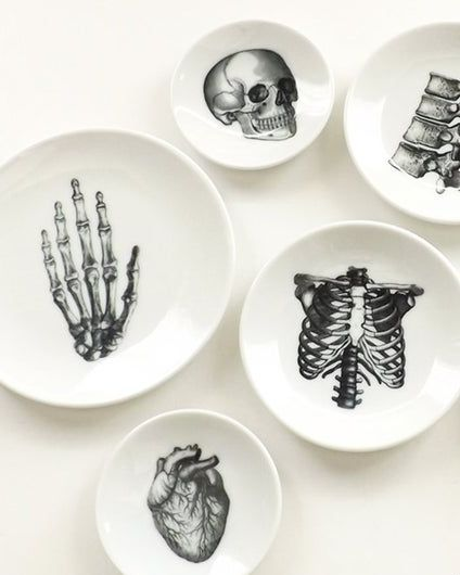 Anatomy Dishes Halloween gift for grandpa