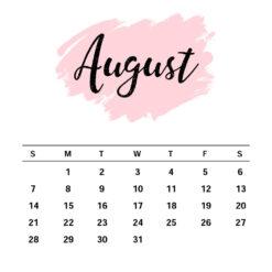 August Birthday Gift