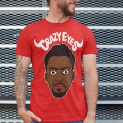 Bobby Portis T Shirt Crazy Eyes Red Style